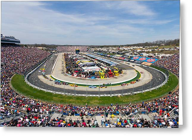 Martinsville Speedway 2013 Greeting Card
