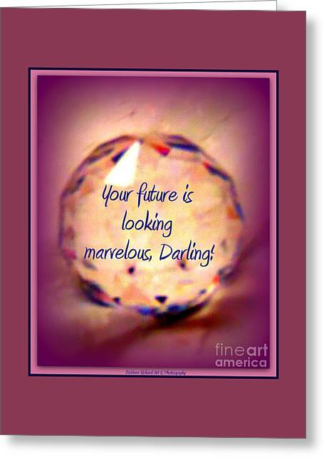 Marvelous Darling Greeting Card by Bobbee Rickard