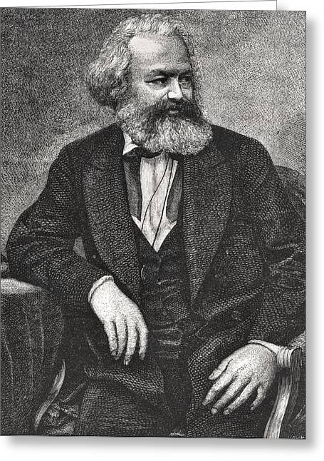 Marx Greeting Card