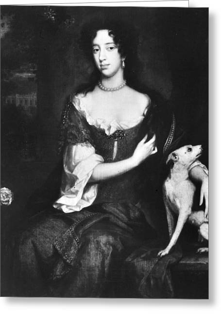 Mary Beatrice (1658-1718) Greeting Card by Granger