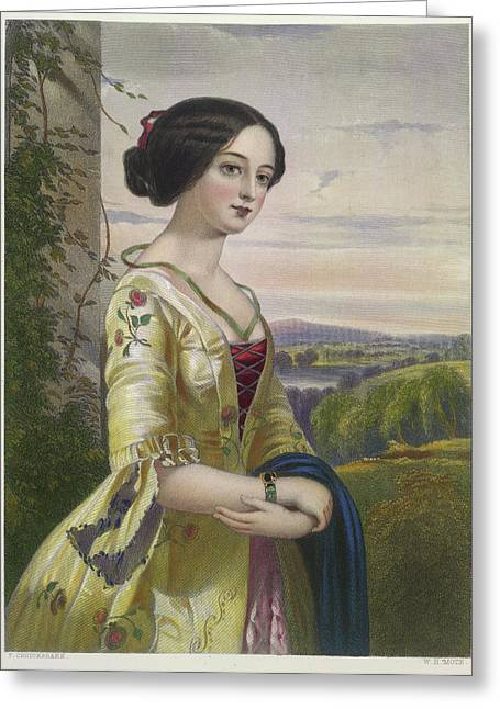 Mary Greeting Card by British Library