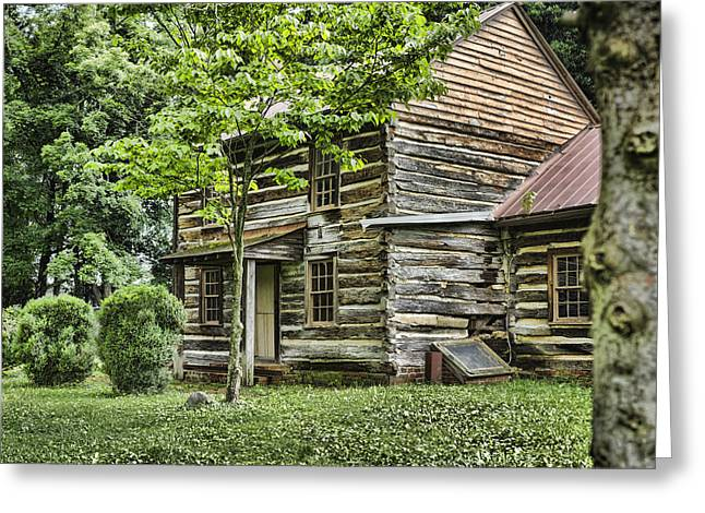 Mary Dells House Greeting Card by Heather Applegate