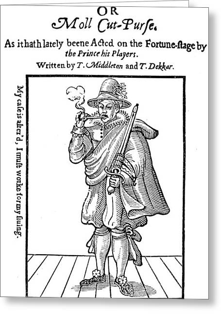 Mary Frith (1585?-1660) Greeting Card
