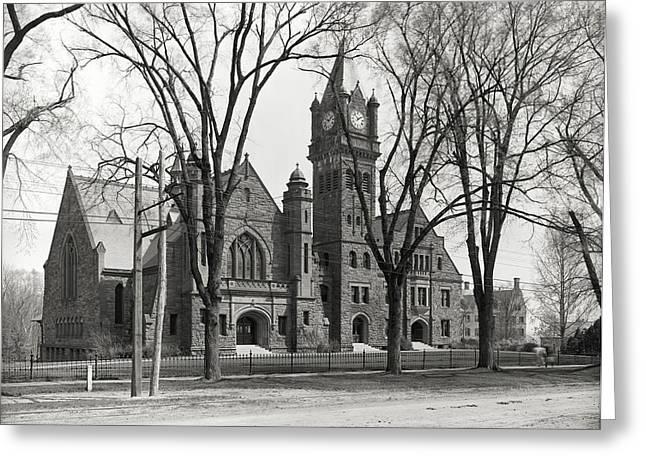 Mary Lyon Hall - Mount Holyoke College Greeting Card