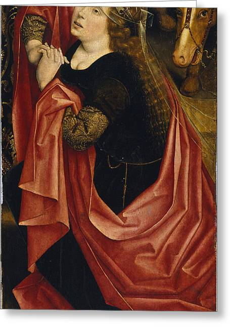 Mary Magdalen Greeting Card by Derick Baegert