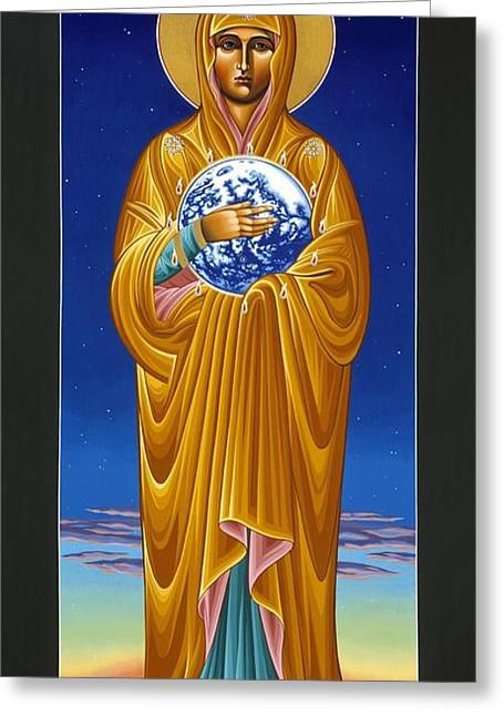 Mary Most Holy Mother Of All Nations 080 Greeting Card
