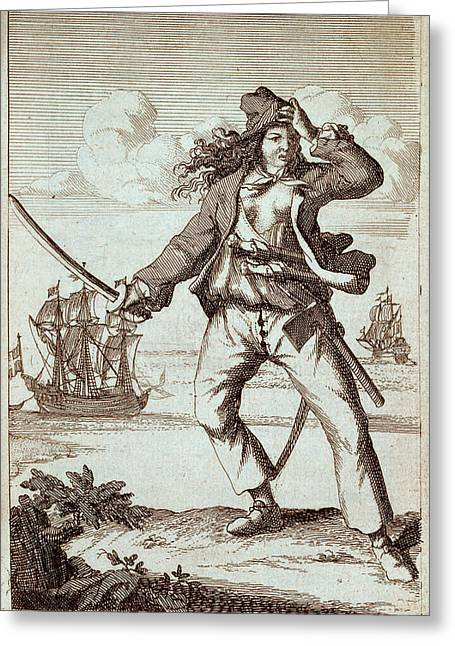 Mary Read Greeting Card by British Library