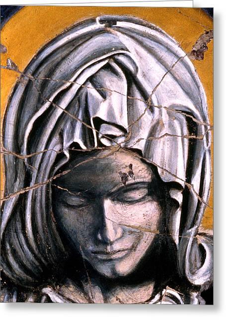 Mary Super Petram - Study No. 1 Greeting Card by Steve Bogdanoff