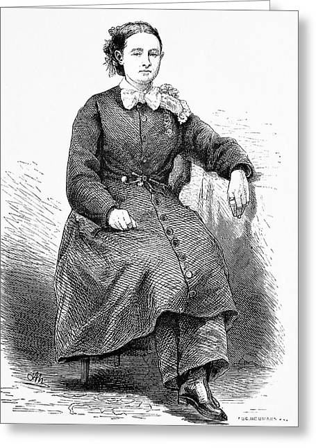 Mary Walker Greeting Card