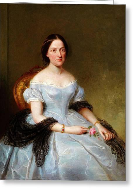 Mary Wollstonecraft Shelley Greeting Card