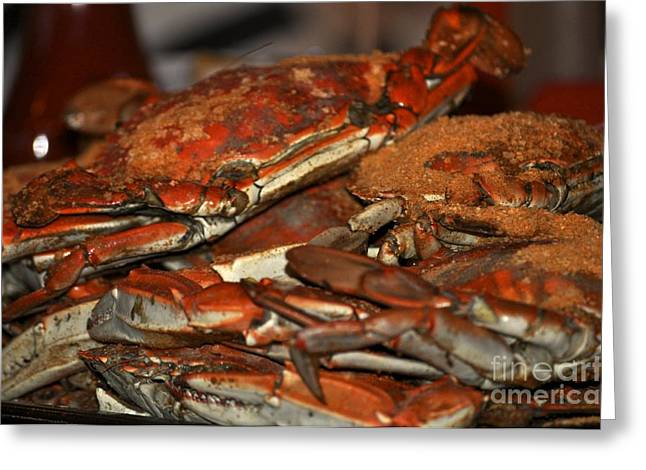 Maryland Crabs Greeting Card