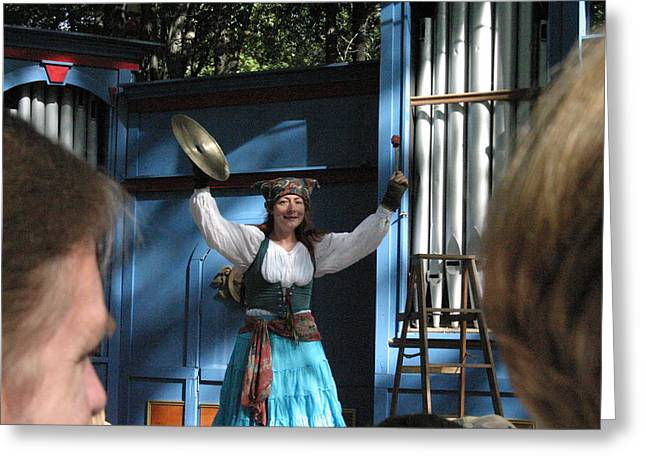Maryland Renaissance Festival - A Fool Named O - 121223 Greeting Card by DC Photographer