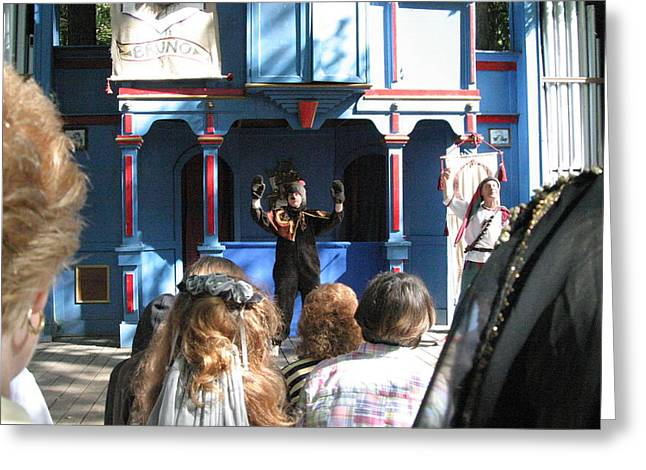 Maryland Renaissance Festival - A Fool Named O - 121229 Greeting Card by DC Photographer