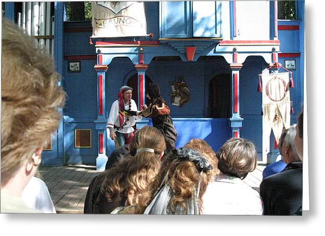 Maryland Renaissance Festival - A Fool Named O - 121230 Greeting Card by DC Photographer