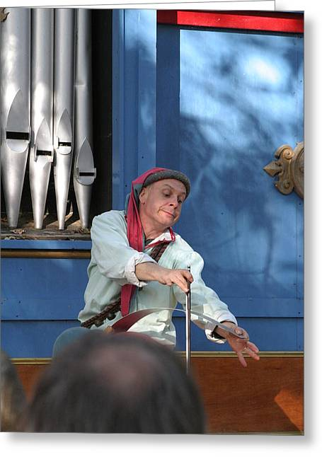 Maryland Renaissance Festival - A Fool Named O - 12129 Greeting Card
