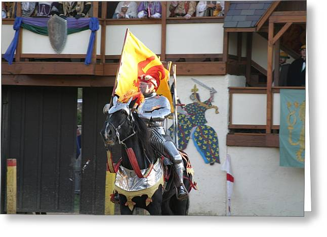 Maryland Renaissance Festival - Jousting And Sword Fighting - 121219 Greeting Card