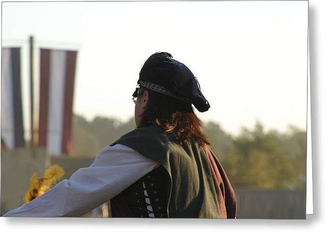 Maryland Renaissance Festival - Jousting And Sword Fighting - 121265 Greeting Card by DC Photographer