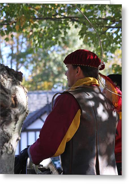 Maryland Renaissance Festival - Kings Entrance - 121210 Greeting Card