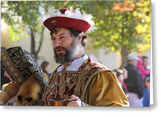 Maryland Renaissance Festival - Kings Entrance - 12125 Greeting Card