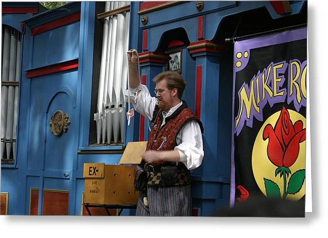 Maryland Renaissance Festival - Mike Rose - 12128 Greeting Card by DC Photographer