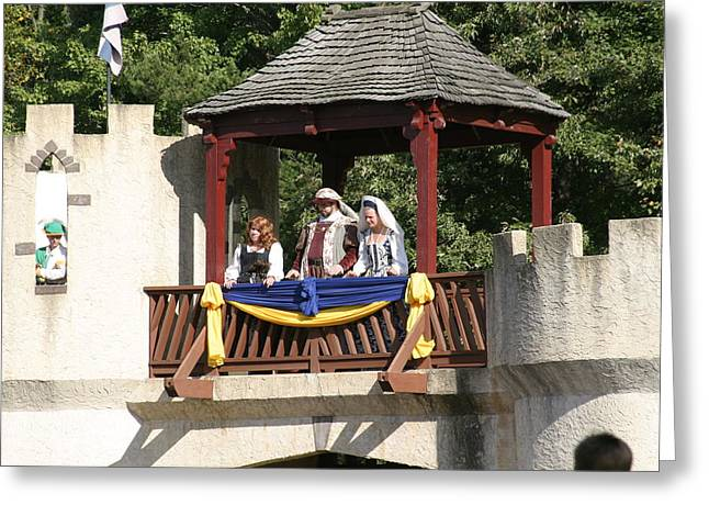 Maryland Renaissance Festival - Open Ceremony - 121210 Greeting Card by DC Photographer