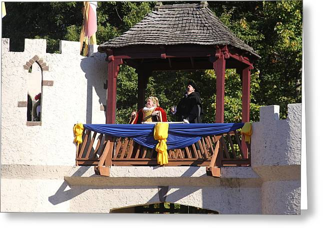Maryland Renaissance Festival - Open Ceremony - 12125 Greeting Card by DC Photographer