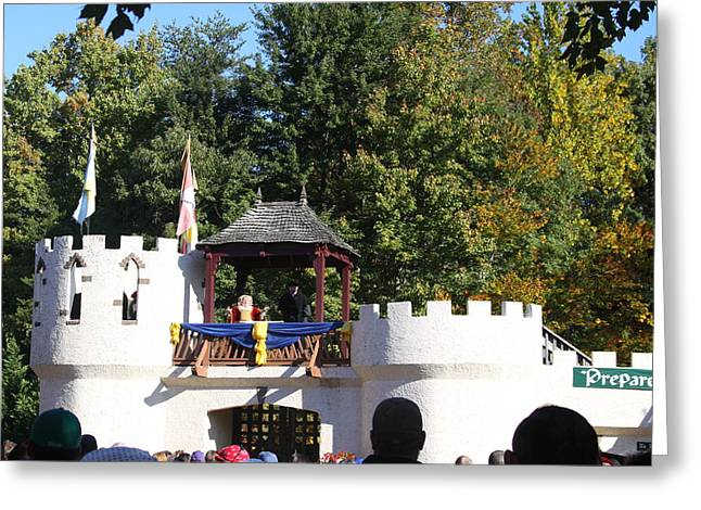Maryland Renaissance Festival - Open Ceremony - 12126 Greeting Card by DC Photographer