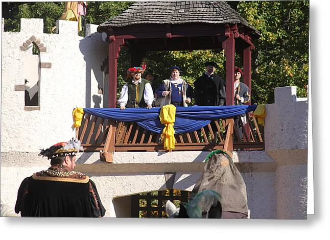 Maryland Renaissance Festival - Open Ceremony - 12127 Greeting Card by DC Photographer
