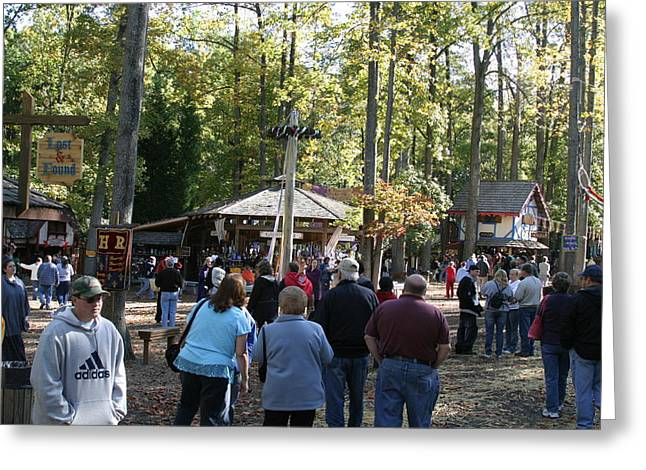 Maryland Renaissance Festival - People - 12121 Greeting Card by DC Photographer