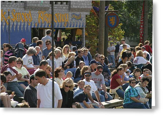 Maryland Renaissance Festival - People - 1212112 Greeting Card