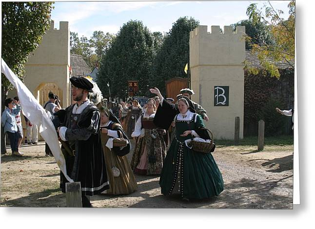 Maryland Renaissance Festival - People - 1212118 Greeting Card by DC Photographer