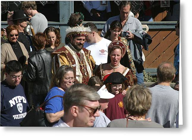 Maryland Renaissance Festival - People - 1212122 Greeting Card by DC Photographer
