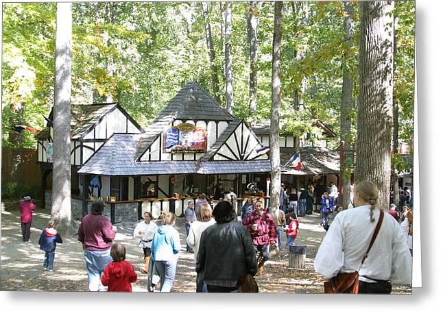 Maryland Renaissance Festival - People - 121222 Greeting Card