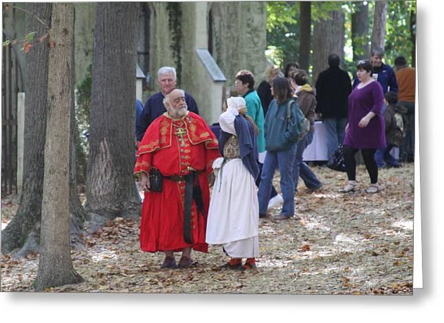 Maryland Renaissance Festival - People - 121239 Greeting Card