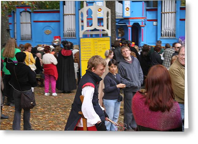 Maryland Renaissance Festival - People - 121245 Greeting Card