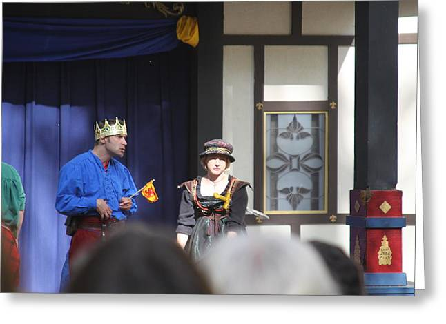 Maryland Renaissance Festival - People - 121251 Greeting Card by DC Photographer