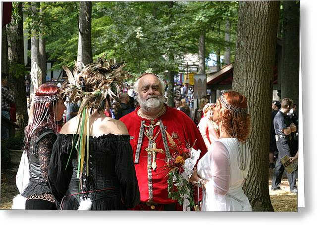 Maryland Renaissance Festival - People - 121261 Greeting Card