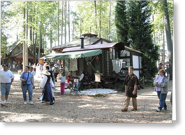 Maryland Renaissance Festival - People - 121266 Greeting Card