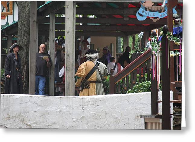 Maryland Renaissance Festival - People - 121283 Greeting Card by DC Photographer