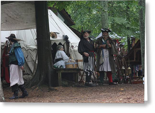 Maryland Renaissance Festival - People - 121285 Greeting Card by DC Photographer