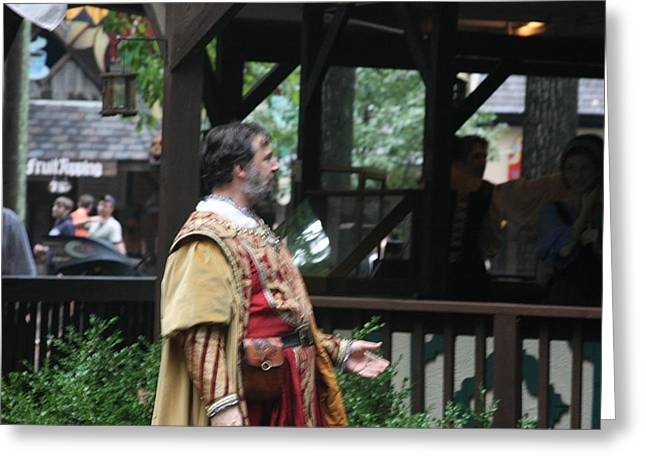 Maryland Renaissance Festival - People - 121291 Greeting Card by DC Photographer