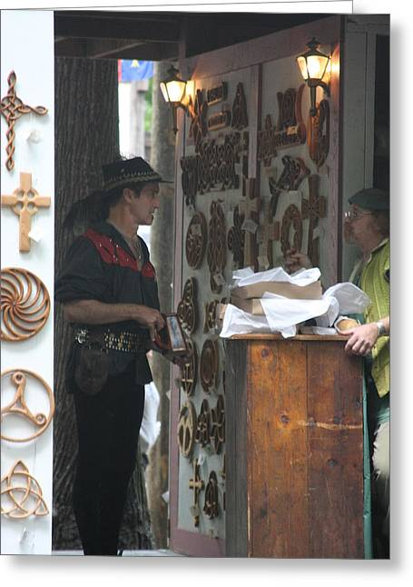 Maryland Renaissance Festival - People - 121294 Greeting Card by DC Photographer