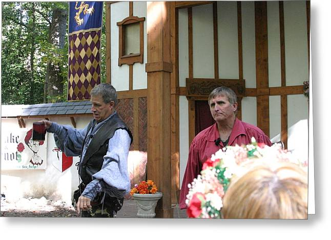 Maryland Renaissance Festival - Puke N Snot - 121211 Greeting Card by DC Photographer