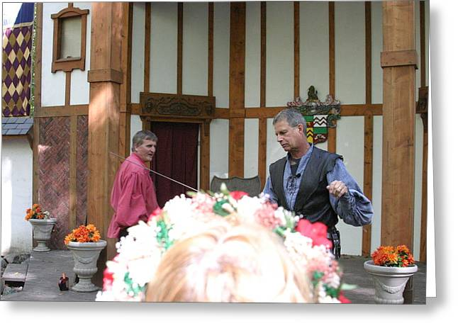 Maryland Renaissance Festival - Puke N Snot - 121220 Greeting Card by DC Photographer