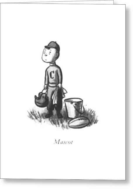 Mascot Greeting Card