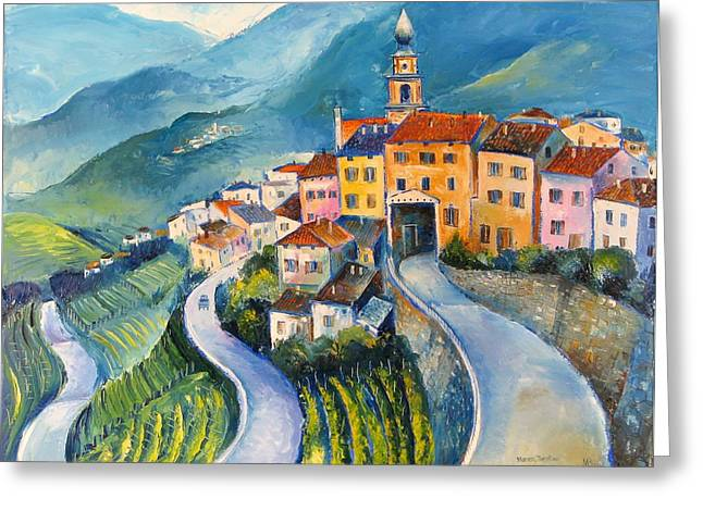 Masen-trentino Greeting Card