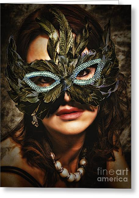 Mask  No. 2  ... Greeting Card