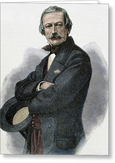 Massimo Taparelli Azeglio, Marquis D ' Greeting Card by Prisma Archivo