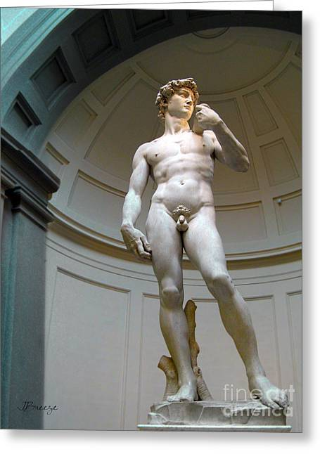 Masterpiece David.florence Greeting Card