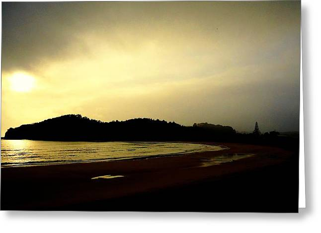 Matapouri At Sunrise Greeting Card